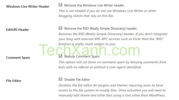 wordpress tweaks 1