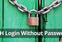 Photo of SSH Server khác không cần password