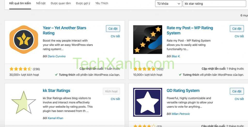 Cai Dat Kk Star Rating