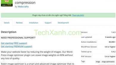 Photo of Robin Image Optimizer – Plugin nén ảnh miễn phí số 1 không thể bỏ qua cho WP 2020