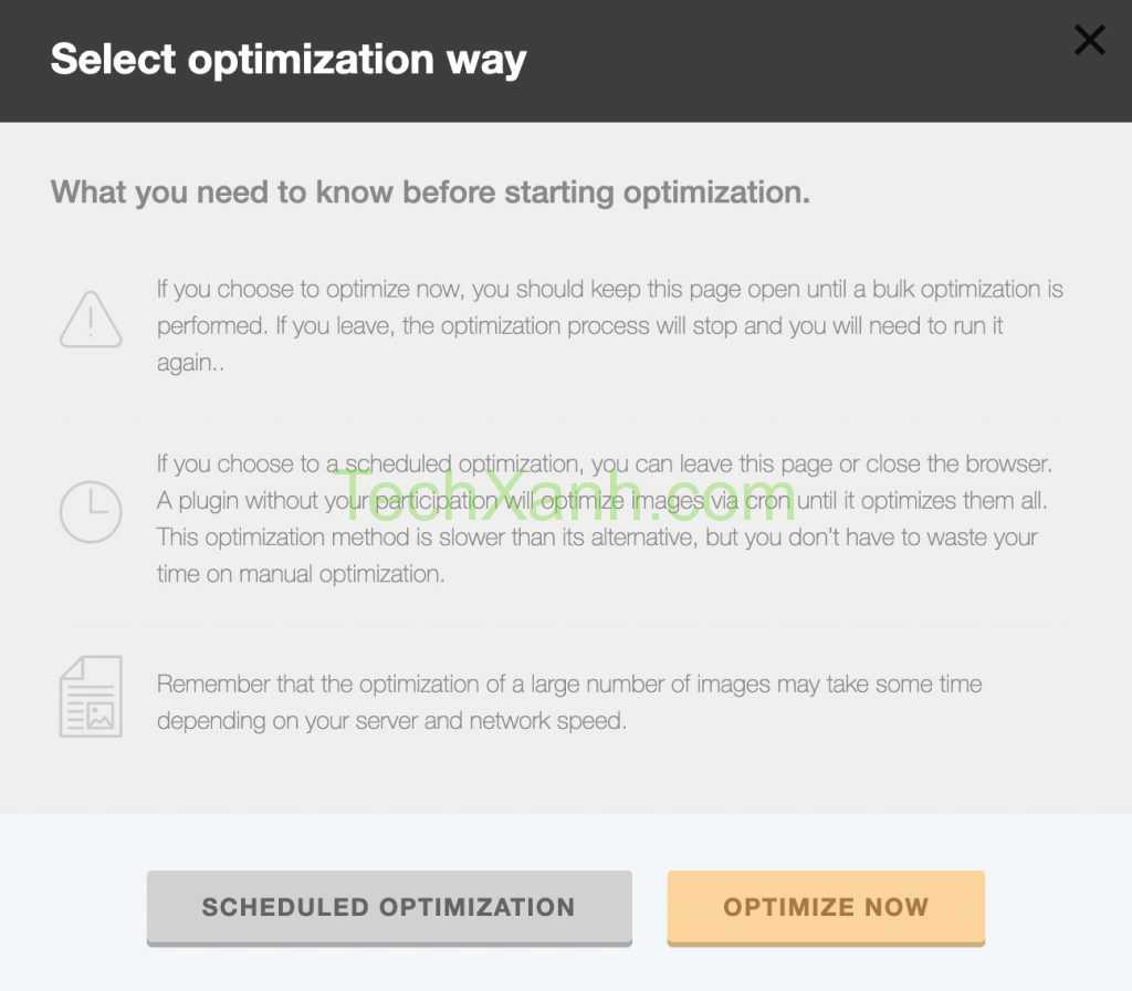 Plugin Robin Image Optimizer Schedule Now