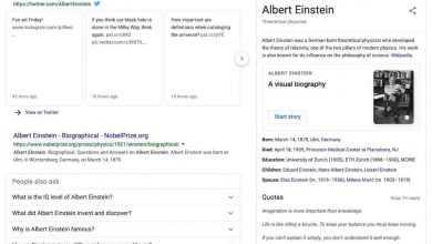 Albert Einstein Knowledge Graph 16